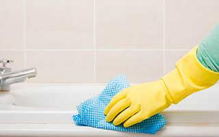 Как можно очистить ванну в домашних условиях