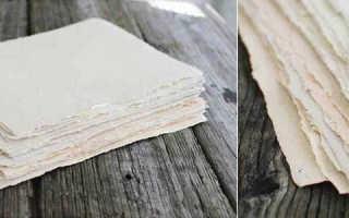 Декоративная бумага своими руками — мастер-класс