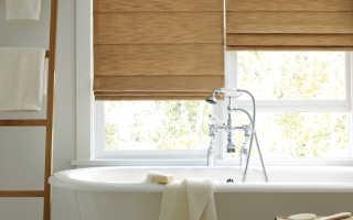 Виды шторы гармошка для ванной и душа