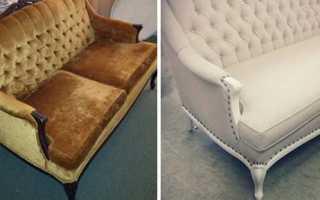 Качественный ремонт дивана своими руками