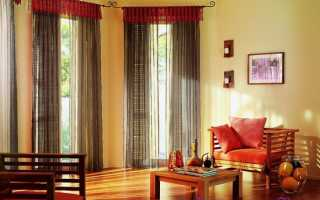 Делаем элегантные складки на шторах