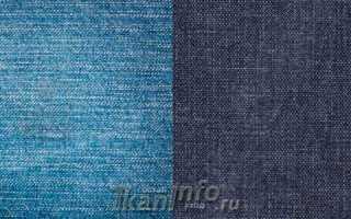 Ткань джинса: структура, состав, свойства