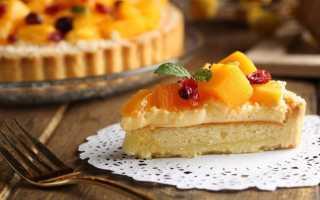 Рецепт вкуснейшего открытого фруктового пирога