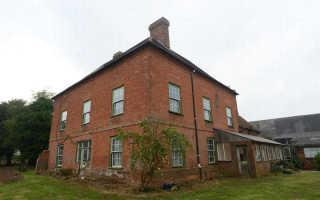 Реконструкция старого дома в Англии