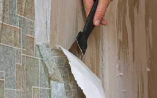 Простейшие 5 способов: как снять обои со стен быстро