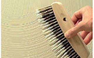 Декоративная штукатурка для стен: делаем структурную поверхность обычной шпаклевкой