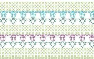 Как читать схемы вязания крючком? Обозначения при вязании крючком