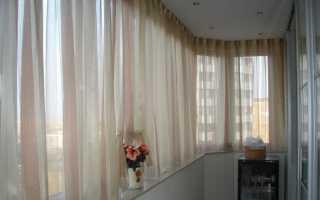 Как повесить шторы на балконе: советы