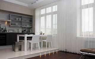 Верёвочные шторы в интерьере