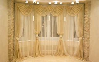 Красивые шторы на окнах: стили, способы оформления, аксессуары