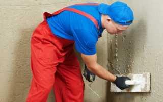 Особенности штукатурки стен из газобетона внутри и снаружи помещения