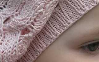 Берет для девочки спицами: как правильно выбрать подходящую модель берета