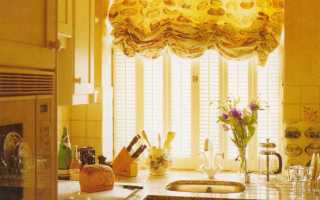 Идеи штор для кухни: удобство или красота?