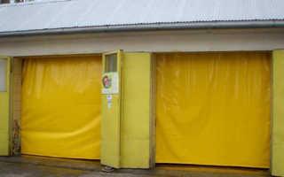 Как подобрать утепленные шторы на ворота гаража