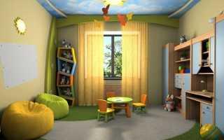 Родителям на заметку: основы правильного выбора штор и тюли для детской