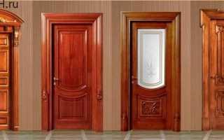 Входная дверь из дерева: от выбора до установки