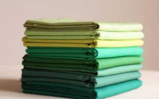 Плотные и тонкие хлопчатобумажные ткани