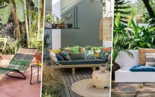 Терраса-патио: уют на свежем воздухе
