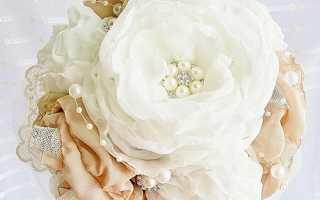 Шифоновые цветы своими руками