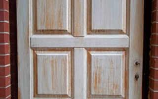 Реставрация деревянных дверей своими руками