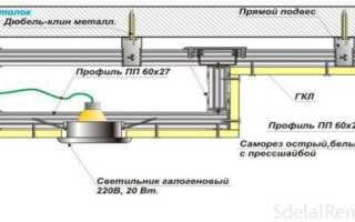 Двухуровневые потолки из гипсокартона своими руками – инструкция по устройству и монтажу