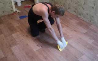 Как положить линолеум на бетонный пол: как уложить и класть, правильно закрепить, стелить и соединять швы