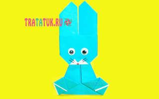 Оригами заяц: описание с фото, советы