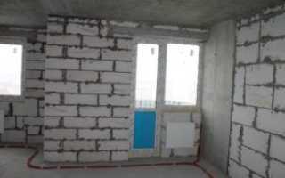 Чем произвести внутреннюю отделка стен из пеноблоков