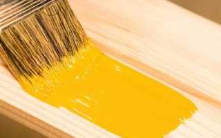 Особенности акриловой краски по дереву для внутренних работ